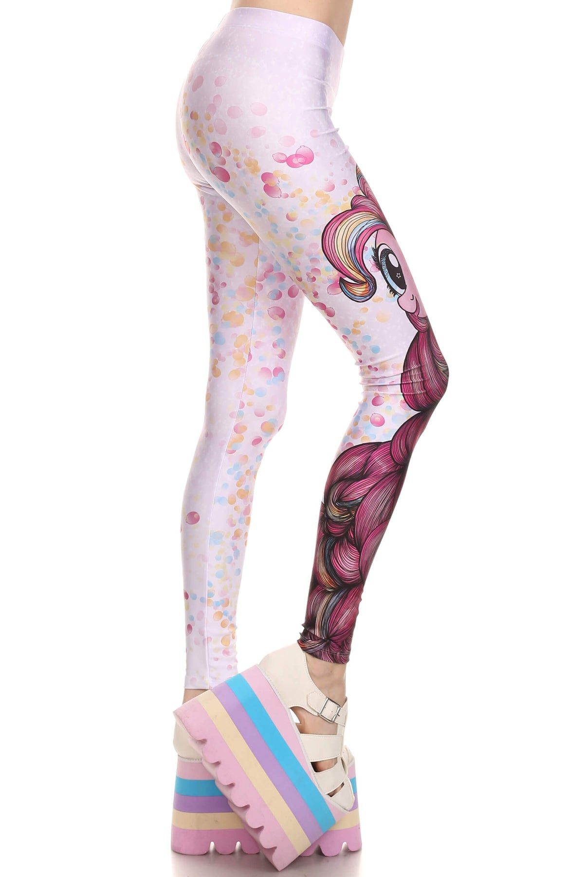 my little pony pinkie pie leggings poprageous 3