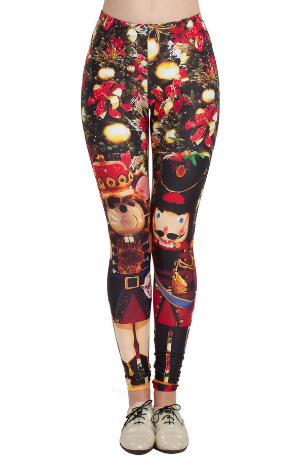 Nutcracker Leggings - POPRAGEOUS  - 1