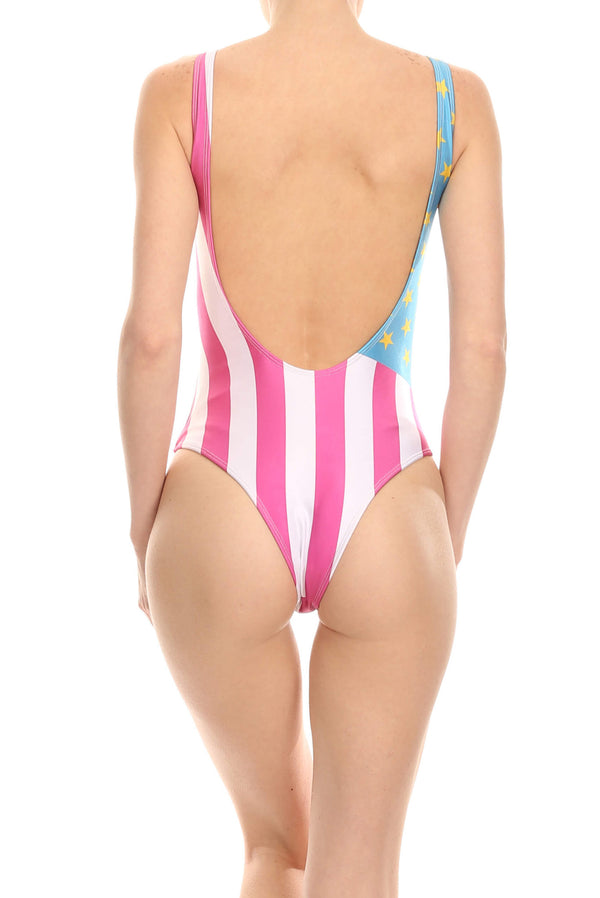 Panamerica 'The Pam' Onesie Swim - POPRAGEOUS  - 3