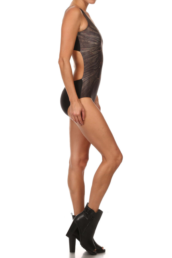 Book of the Dead One-Piece Swim - POPRAGEOUS  - 3