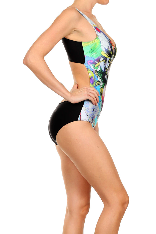 David Choe: 7th & Mateo Swim - POPRAGEOUS  - 4