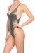Molten Pewter Roxanne One Piece Swim