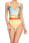 70's Palm Springs 'The Pam' Onesie Swim - POPRAGEOUS  - 1