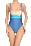 70's Venice Beach 'The Pam' Onesie Swim - POPRAGEOUS  - 1