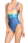 70's Venice Beach 'The Pam' Onesie Swim - POPRAGEOUS  - 2
