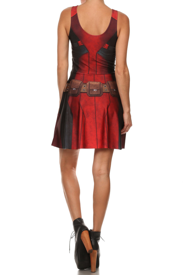 Antihero Skater Dress - LIMITED - POPRAGEOUS  - 4