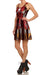 Red Robobabe Skater Dress