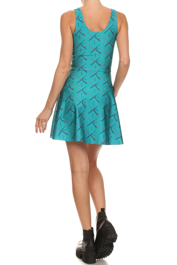 PDX Carpet Skater Dress - POPRAGEOUS  - 4