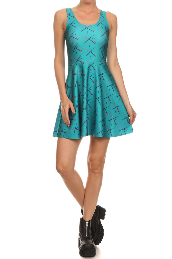 PDX Carpet Skater Dress - POPRAGEOUS  - 1