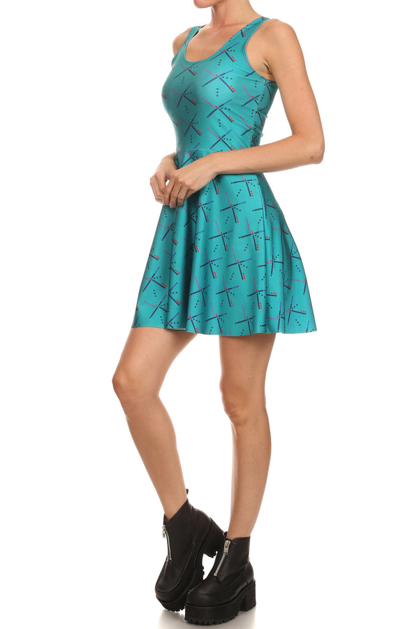 PDX Carpet Skater Dress - POPRAGEOUS  - 2