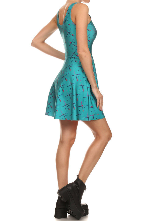 PDX Carpet Skater Dress - POPRAGEOUS  - 3
