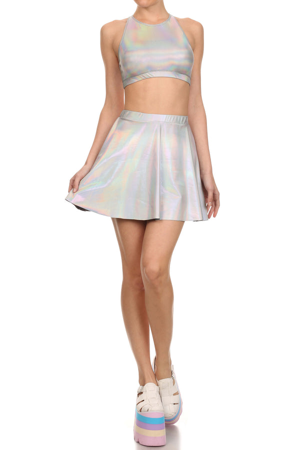 Unicorn Blood Skater Skirt - POPRAGEOUS  - 4