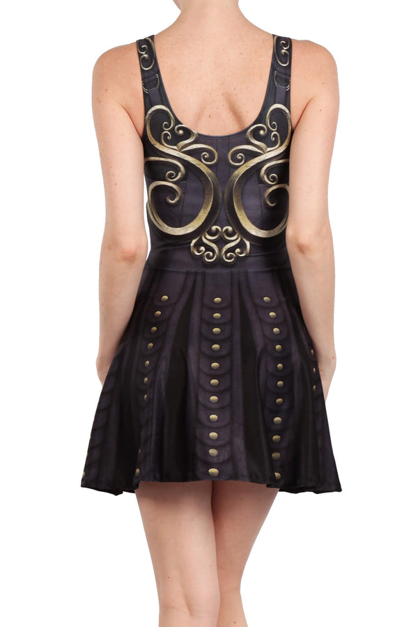 Battle Princess Skater Dress - POPRAGEOUS  - 4