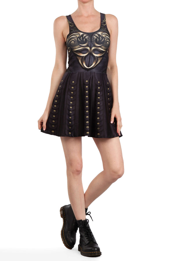 Battle Princess Skater Dress - POPRAGEOUS  - 3