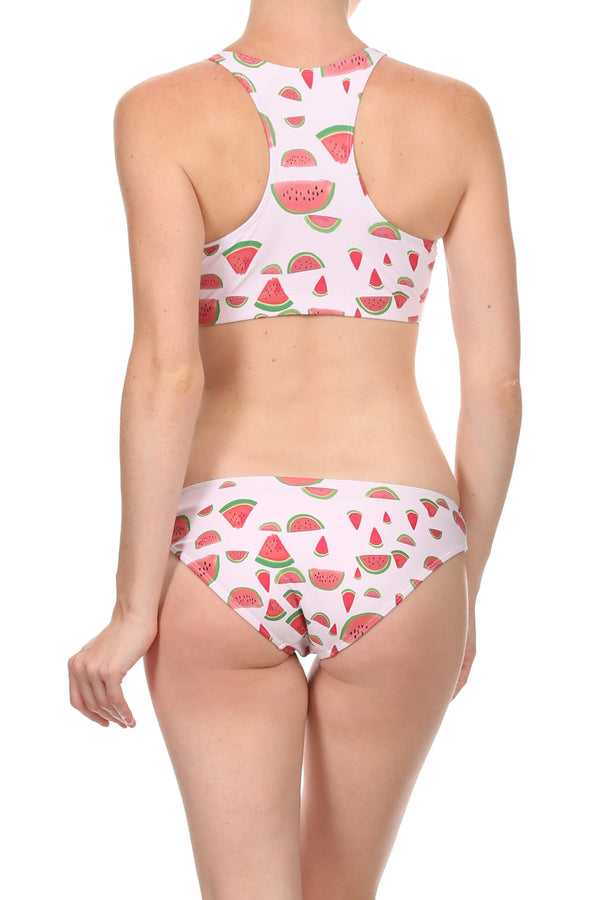 Watermelon Full Bikini Bottom - POPRAGEOUS  - 1