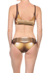 Gold Robot Swim Top - LIMITED - POPRAGEOUS  - 2