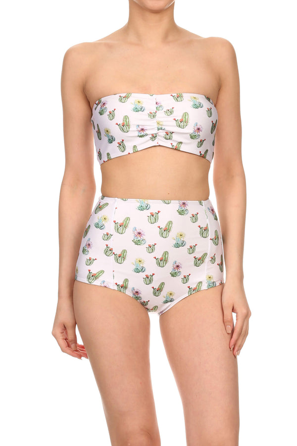 Cactus Two-Piece Swim - POPRAGEOUS  - 1