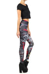 Rask Opticon: Harley Quinn Leggings - POPRAGEOUS  - 3