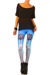 LACMA Leggings - XXS - POPRAGEOUS  - 1