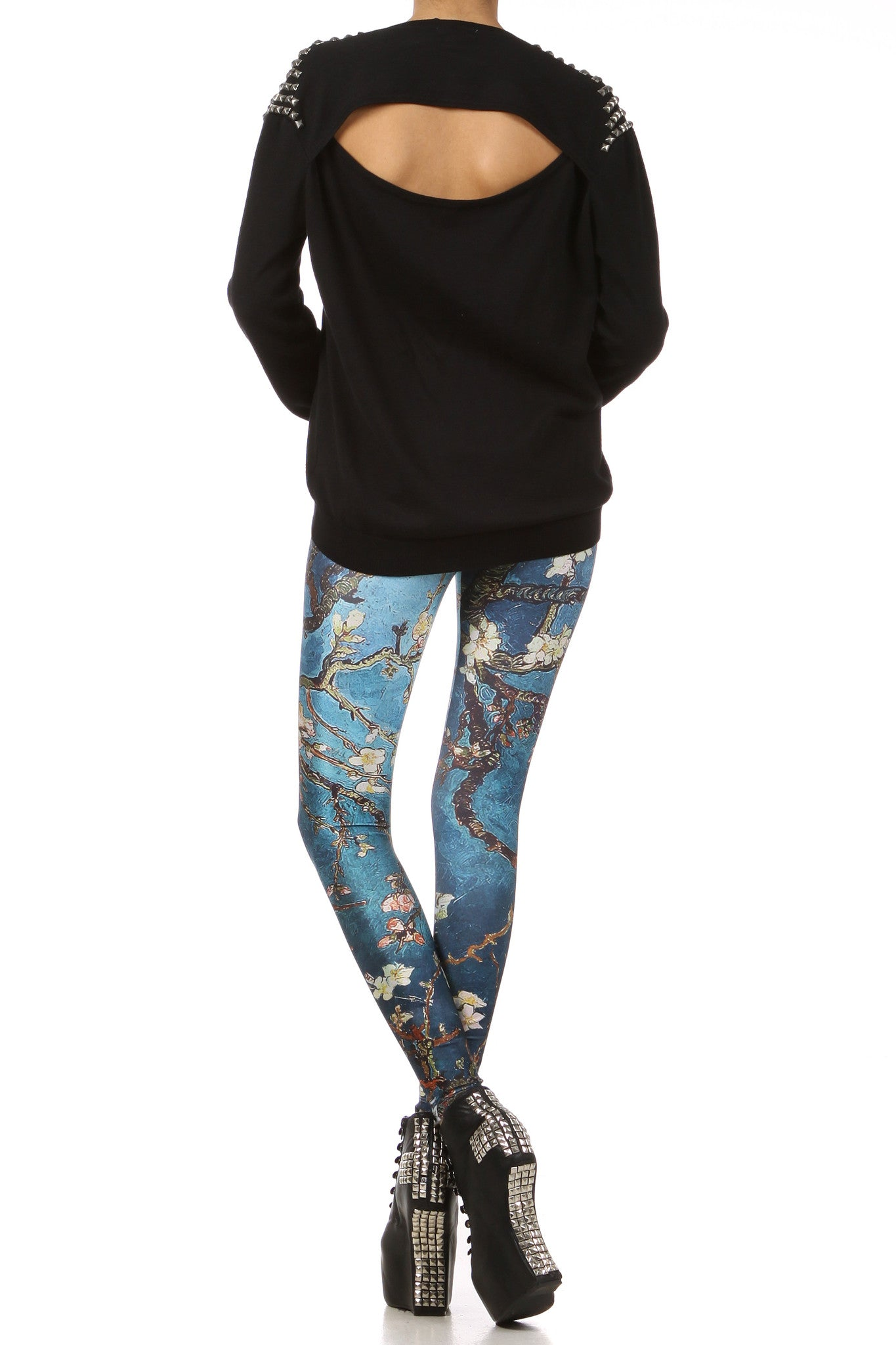 Almond Blossom Leggings - POPRAGEOUS  - 4