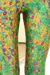 Klimt Flower Leggings - XXS - POPRAGEOUS  - 5