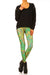 Klimt Flower Leggings - XXS