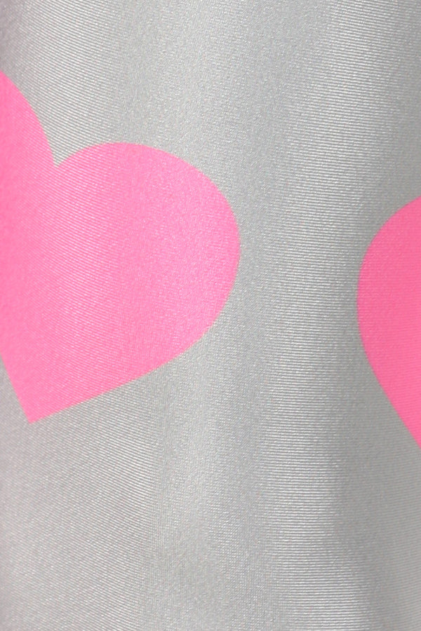 Pink Heart Leggings - POPRAGEOUS  - 5