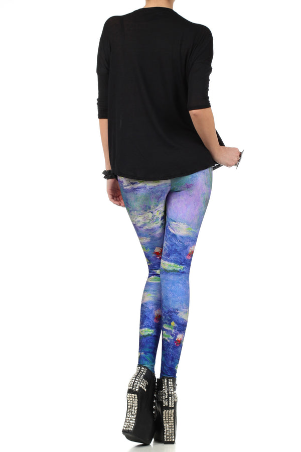 Monet Leggings - POPRAGEOUS  - 4