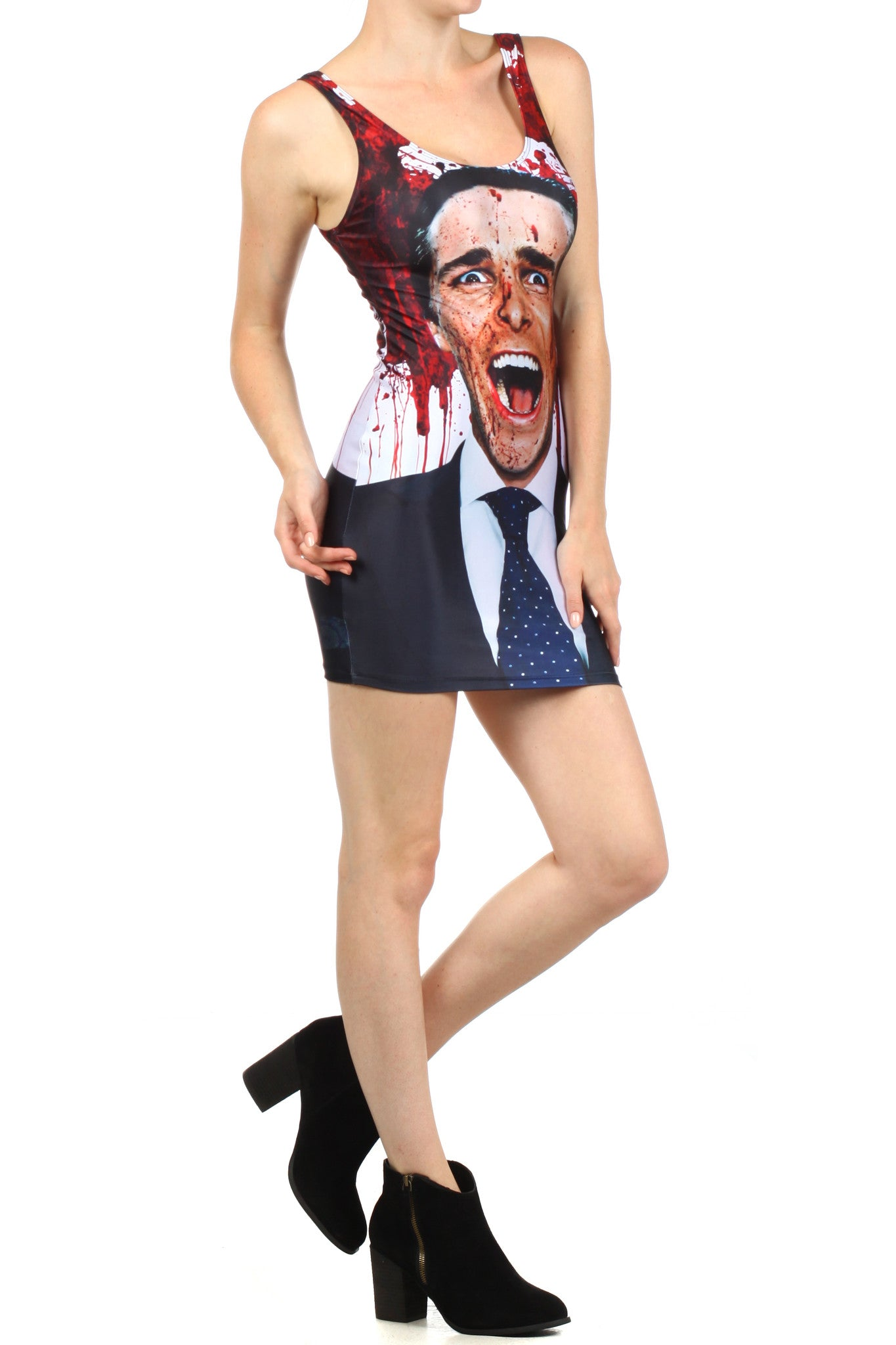 American Psycho Bodycon Dress - POPRAGEOUS  - 3