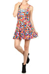 All The Flags Skater Dress - POPRAGEOUS  - 1