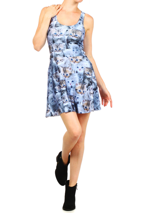 Kitten Skater Dress - POPRAGEOUS  - 1