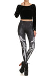 Black Craft Cult Ram Priest Leggings - POPRAGEOUS  - 1