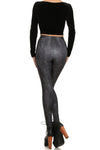 Black Craft Cult Ram Priest Leggings - POPRAGEOUS  - 4