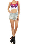 Sailor Mars Crop Top - POPRAGEOUS  - 1