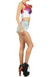 Sailor Mars Crop Top - POPRAGEOUS  - 3