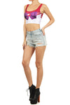 Sailor Mars Crop Top - POPRAGEOUS  - 2