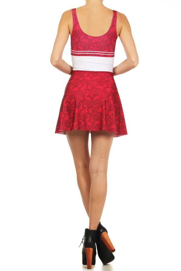 Sailor Mars Skater Dress - POPRAGEOUS  - 4
