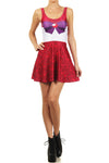 Sailor Mars Skater Dress - POPRAGEOUS  - 1