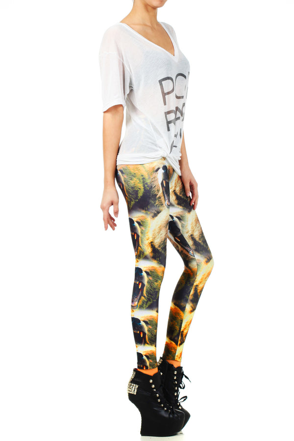 Cali Roar Leggings - POPRAGEOUS  - 4