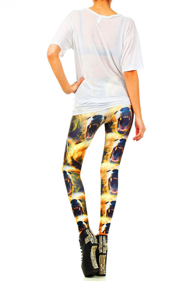 Cali Roar Leggings - POPRAGEOUS  - 3