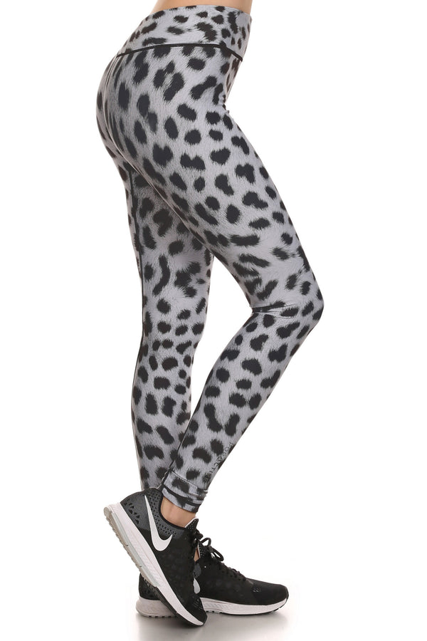 Snow Leopard Dream Leggings - POPRAGEOUS  - 2