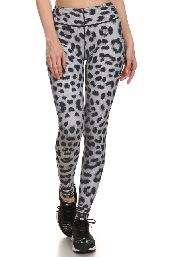 Snow Leopard Dream Leggings - POPRAGEOUS  - 1