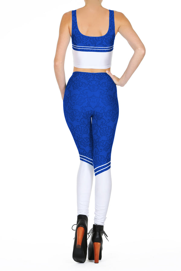 Sailor Mercury 2.0 Leggings - POPRAGEOUS  - 4