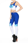 Sailor Mercury 2.0 Leggings - POPRAGEOUS  - 2