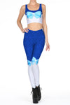 Sailor Mercury 2.0 Leggings - POPRAGEOUS  - 1