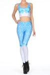 Sailor Mercury Leggings - POPRAGEOUS  - 1