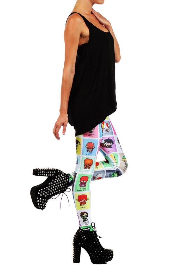 JSalvador: Super Emo Leggings - POPRAGEOUS  - 3