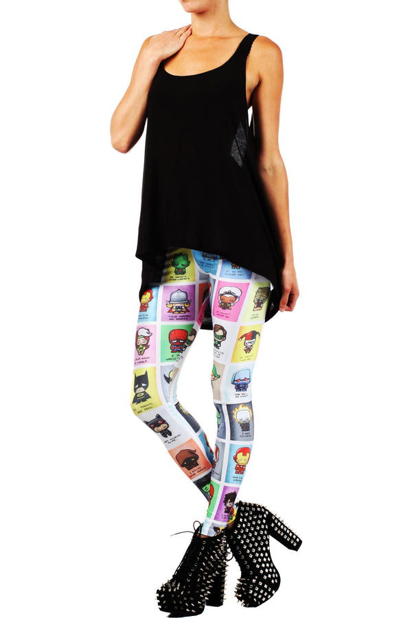 JSalvador: Super Emo Leggings - POPRAGEOUS  - 2