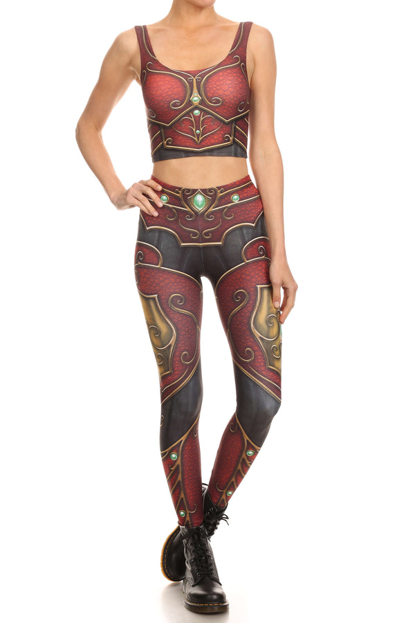 Elf Armor Crop Top - POPRAGEOUS  - 4