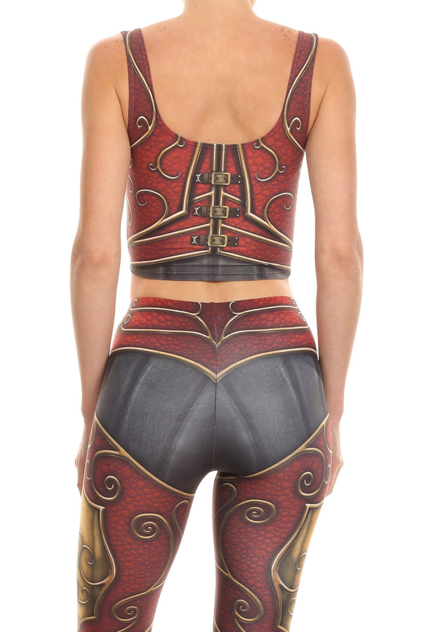 Elf Armor Crop Top - POPRAGEOUS  - 3